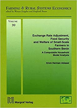 Book Exchange Rate Adjustment, Food Security and Welfare of Small Scale Farmers in Southern Benin