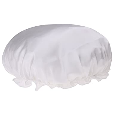 Gazechimp Femme Bonnet de Nuit Charlotte en 100% Soie Chapeau de Sommeil  Cheveux Sec Rapide fc7f43b3013