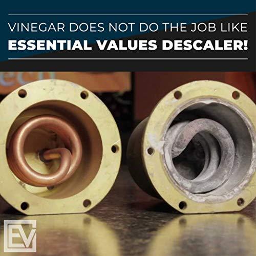 Descaling Solution/Descaler For Keurig, Delonghi, Saeco, Gaggia, Nespresso And All Single Use, Coffee Pot & Espresso Machines By Essential Values