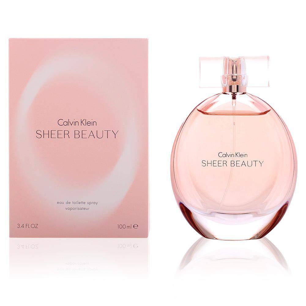 Calvin Klein Sheer, Agua de perfume para mujeres - 100 ml ...