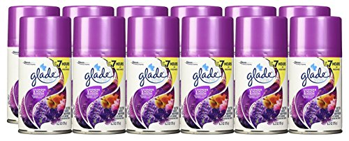 Glade Automatic Spray Air Freshener Refill KSmxj, Pack of 6, 2Units (Lavender and Peach Blossom) by Glade (Image #1)