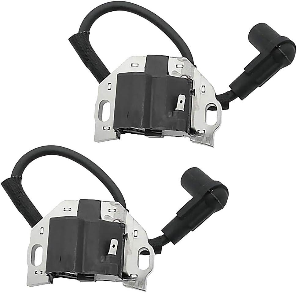 2 Pcs Ignition Coil 21171-0743 21171-0711 Replacement for Kawasaki FR FS FX Series Engines FR541V FS481V FX481 481V 541V 600V 691V 730V
