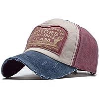 Handcuffs Summer Cotton Cap Motors Racing Team Baseball Cap Snapback Hat Hip Hop Fitted Cap Hat for Men Women Cap