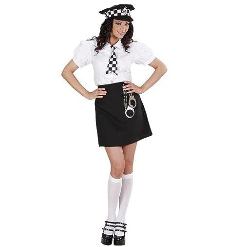 Amazon.com: Señoras policía británica Girl Costume Pequeño ...