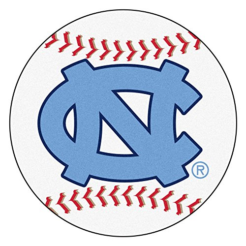 Fan Mats University of North Carolina Baseball Area Rug ()