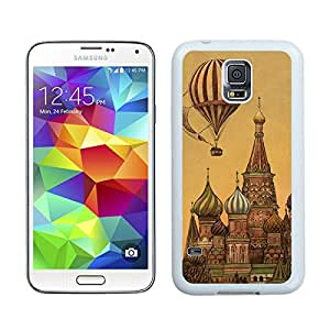 Custom Samsung Galaxy S5 Case Protective <Neo Hybrid> <Satin Silver> Slim Fit Dual Protection Cover for Galaxy S5 and Galaxy S5 Prime(2015)-Satin Silver,,Classic Top Art Design Samsung Galaxy S5 Case White Cover