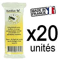 TURDUS Lot DE 20 Ethylotests