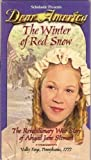 Dear America: The Winter of Red Snow. The Revolutionary War Story of Abigail Jane Stewart (VHS) by Kristiana Gregory (2000-01-01)