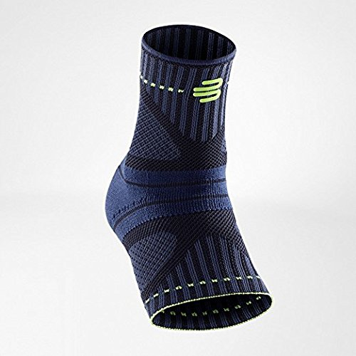 Bauerfeind Sports Ankle Support Dynamic - Ankle Compression Sleeve for Freedom of Movement - 3D AirKnit Fabric for Breathability - Premium Quality & Washable (M, Black) by Bauerfeind (Image #2)