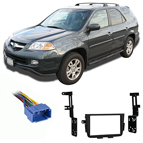 Fits Acura MDX 2001-2004 Double DIN Aftermarket Harness Radio Install Dash (Acura Mdx Aftermarket)