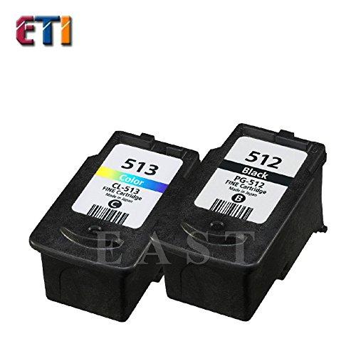 KTC Computer Technology 2PK para Canon PG-512 CL-513 PG512 CL513 ...