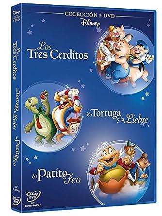 Pack: Fabulas 3 Cerditos + El Patito Feo + La Liebre Y La Tortuga ...