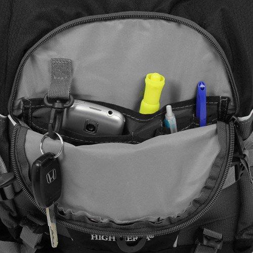 High Sierra Loop Backpack, Black/Charcoal