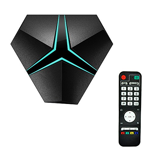HoLead Iron Plus Android 6.0 TV Box, T95X Android TV Box Amlogic S912 2GHz 64 Bits 4K Playing(32G)