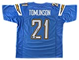 LaDainian Tomlinson Autographed/Signed San Diego Powder Blue Custom Jersey