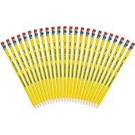 Write Dudes USA Gold Premium American Cedar Presharpened Pencils 24-Pack (41055)
