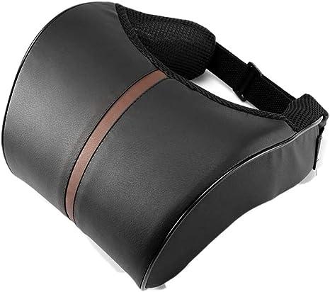 Abedoe Kopfstütze Kissen Nackenkissen Für Auto Pu Leder Pad Atmungsaktive Stuhl Kissen Mit Memory Foam Design Für Hals Schmerzlinderung Küche Haushalt