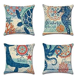51b6-7nIfwL._SS300_ 100+ Nautical Pillows & Nautical Pillow Covers