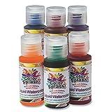 S&S Worldwide 1-oz. Color Splash! Liquid Watercolors (set of 6)