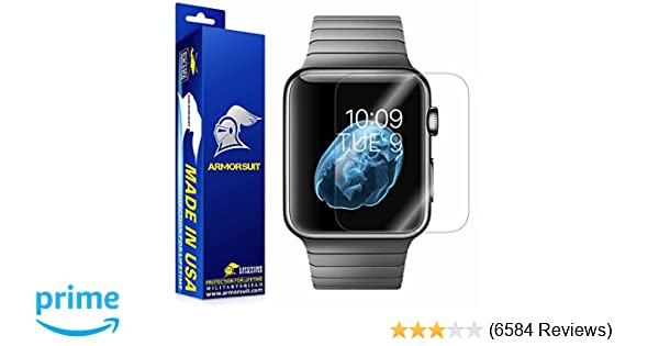 Amazon.com: Apple Watch Screen Protector (42mm Series 3 / 2 / 1 Compatible) [2 Pack], Armorsuit MilitaryShield Max Coverage Screen Protector for Apple Watch ...