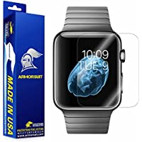 ArmorSuit MilitaryShield Anti-Bubble Ultra HD Full Coverage Screen Protector for Apple Watch 42mm (Series 1) –...