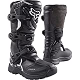 Fox Racing 2018 Youth Comp 3 Boots (8) (BLACK)
