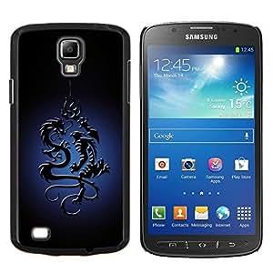 """Be-Star Único Patrón Plástico Duro Fundas Cover Cubre Hard Case Cover Para Samsung i9295 Galaxy S4 Active / i537 (NOT S4) ( Dragón tribal"""" )"""