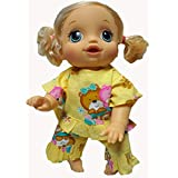 Bear Cute Print Pajamas Fit Baby Alive Go Go