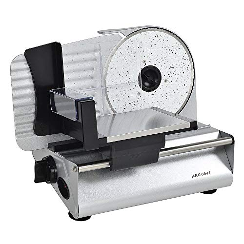 AKG Chef Electric Food Slicer, Precision 7.5