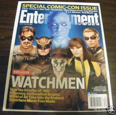 ENTERTAINMENT WEEKLY MAGAZINE THE WATCHMEN MOVIE SDCC SPECIAL EDITION -