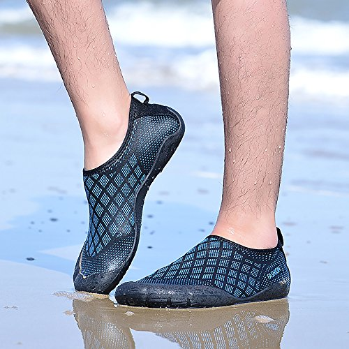 Diamond blue Pool Fivefingers Water Aqua Yoga dry Swim Socks Beach Mens Shoes Aerobics For Surf Quick xqaR1