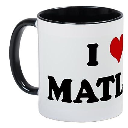 Amazon com | CafePress - I Love MATLAB Mug - Unique Coffee