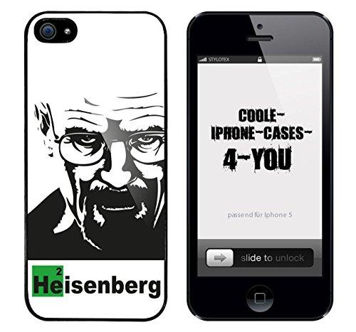 Iphone 5 / 5S Schutzhülle Bad Walter v7 - schwarzer Rahmen
