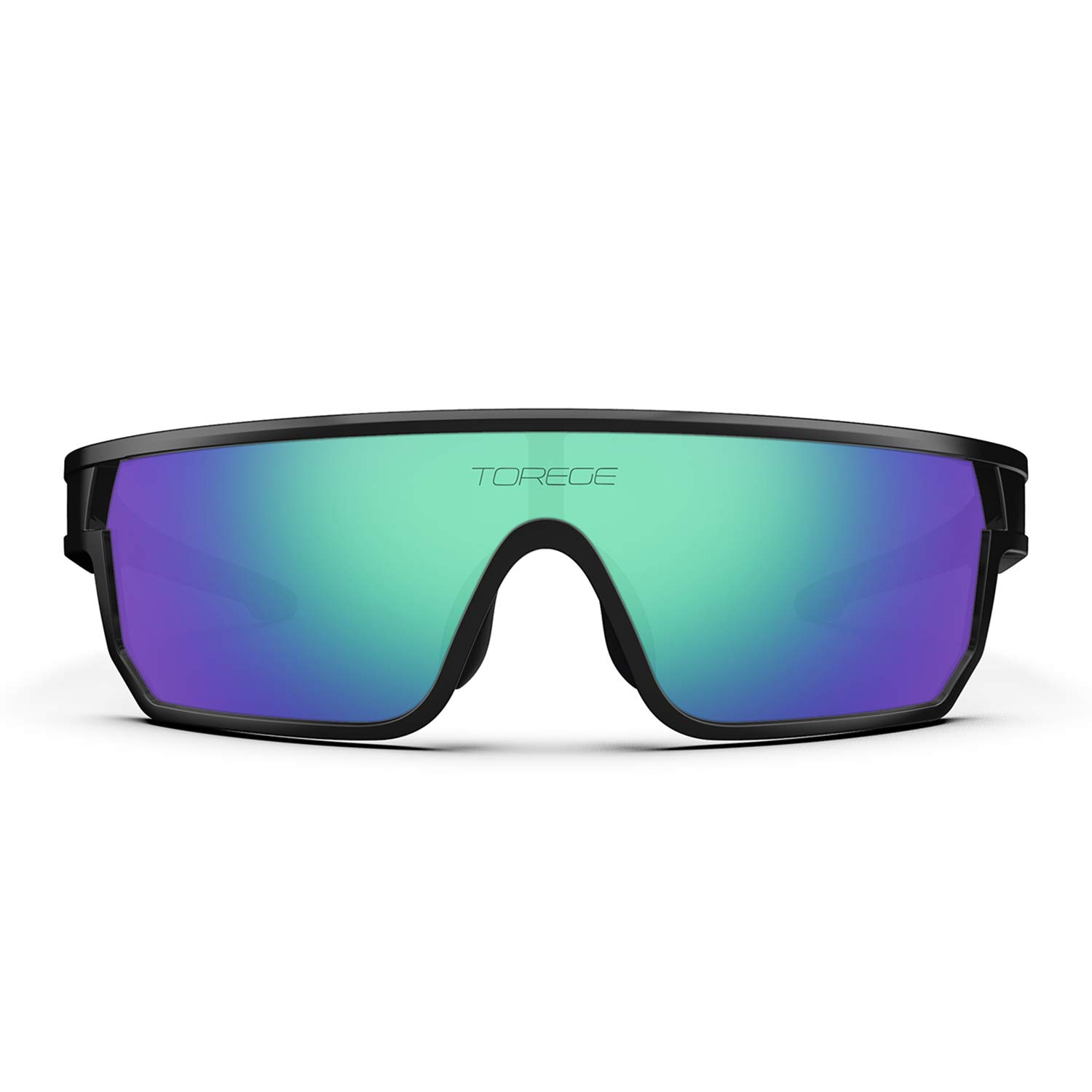 TOREGE Polarized Sports Sunglasses for Man Women