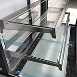 """MB48 48"""" Curved Glass Refrigerated Bakery Display"""