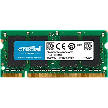 New Cricail 4GB 2RX8 PC2-5300s DDR2-667 200 pin CL5 SODIMM SDRAM Memory NON ECC