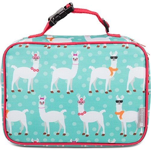 Insulated Lunch Box Sleeve - Securely Cover Your Bento Box (Llama) by Bentology