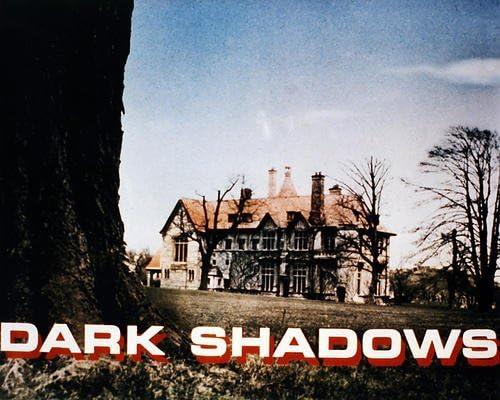 DARK SHADOWS 8X10 PHOTO MANSION FROM TV SHOW
