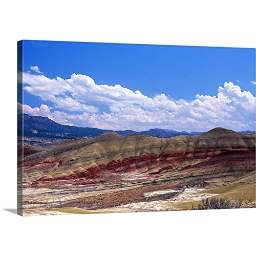 Great Big Canvas Gallery-Wrapped Canvas Entitled Painted Hills, John Day Fossil Beds NM, Oregon 48