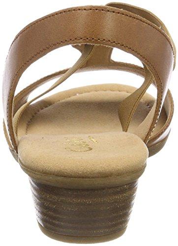 Gabor Marronpeanut SportSandales Cheville Femme Comfort Shoes Bride f6gYby7