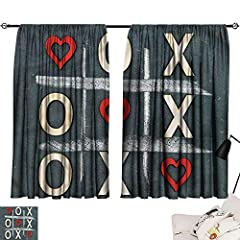 Best quality: These motif pattern thermal insulated curtains are upgraded and beyond normal ones, innovated soft and smooth material. ensure the hand touch is silky and has a beautiful / pleasant feel to it that complements most decor. Perfec...