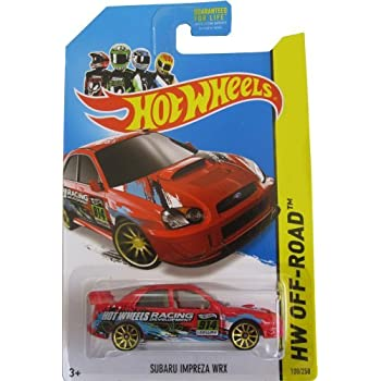 Amazon.com: Track Stars Series #2 Subaru Impreza Hot Wheels ...
