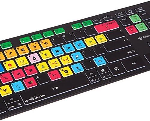 Editors Keys Presonus Studio One Slimline Keyboard for PC and Mac