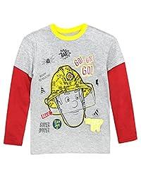 Fireman Sam Boys Long Sleeved Top