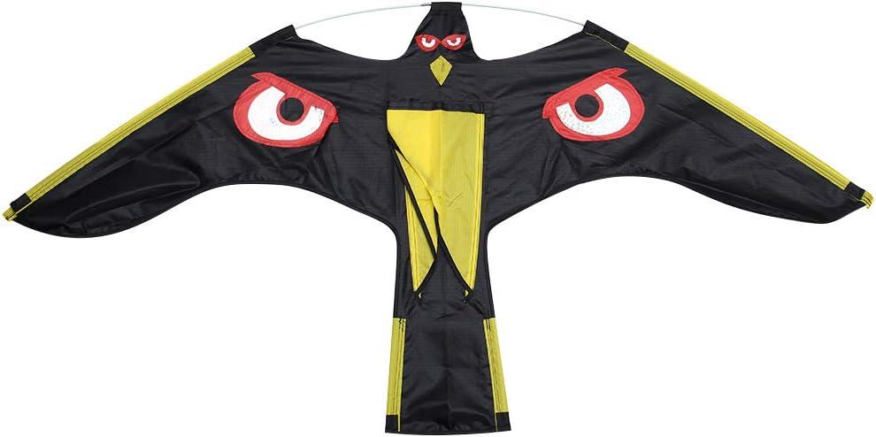 Teekit Pájaro espantapájaros Ahuyentador Flying Hawk Kite Kit para jardín de la casa de la Yarda
