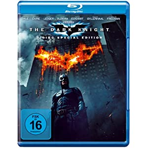 [Amazon] Blu rays: The Dark Knight (2 Discs) & Hangover für je 6,97€ inkl. Versand