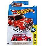 Hot Wheels - 175/250 - 2016 HW City Works 10/10 - '67 Austin Mini Van by Mattel