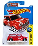 hot wheels mini van - Hot Wheels 2016 HW City Works '67 Austin Mini Van 175/250, Red