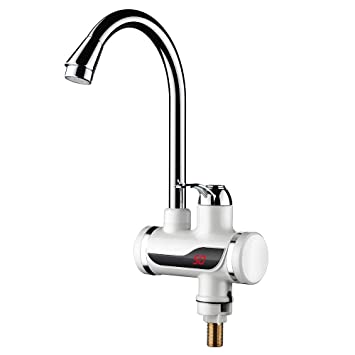 110v Tankless Electric Hot Water Heater Faucet Kitchen Heating Tap