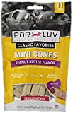 Pur Luv Mini Bones made in USA Size:Pack of 2 Flavor:Peanut Butter Review